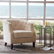 Ansley Chesterfield Barrel Chair