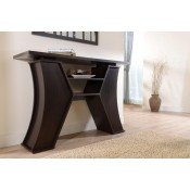 Contemporary style accent table