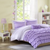 Mizone Morgan Comforter Set - Purple