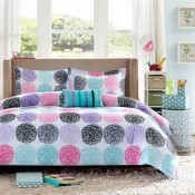 Mizone Carly Comforter Set - Purple
