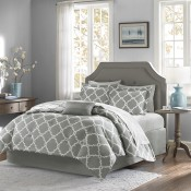Merritt Complete Bed and Sheet Set - Grey