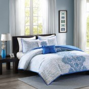 Intelligent Design Avani Comforter Set - Blue