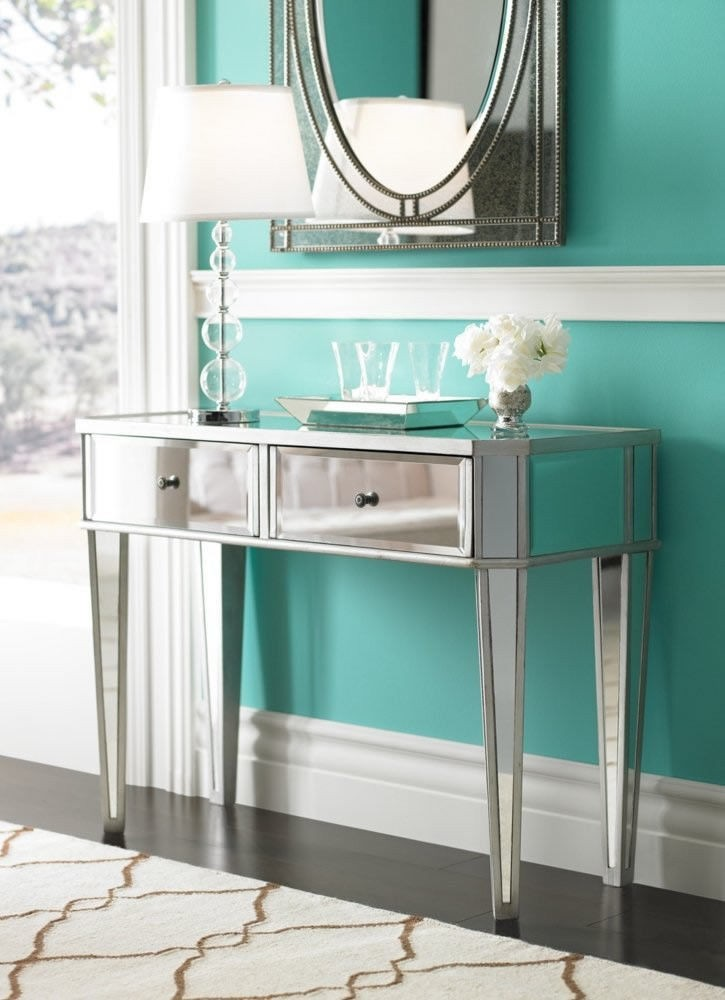 Modern-Mirrored-Console-Accent-Vanity-Hall-Table-by-Powell-233-225 Modern-Mirrored-Console-Accent-Vanity-Hall-Table-by-Powell-233-225 Modern-Mirrored-Console-Accent-Vanity-Hall-Table-by-Powell-233-225 Have one to sell? Sell now Modern Mirrored Console Accent Vanity Hall Table by Powell 233-225