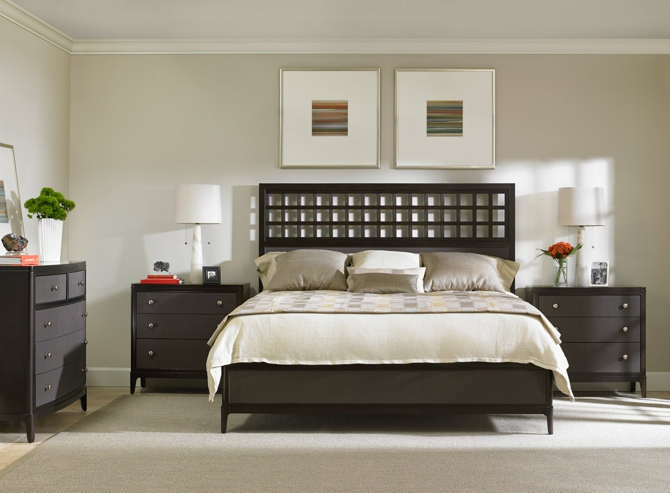 Stanley Furniture Wicker Park Wood Panel Bed In Brownstone 409 13 4