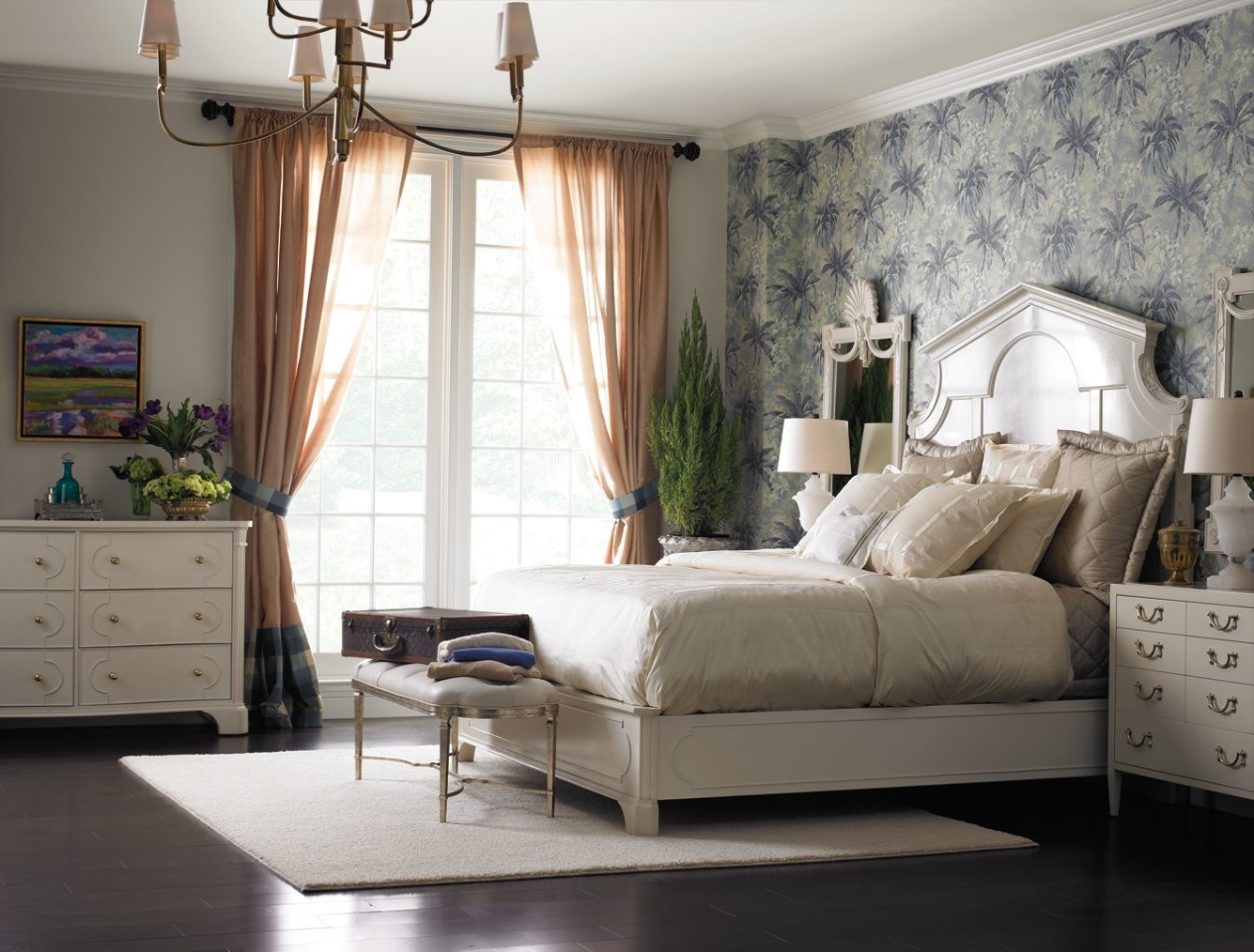 Stanley Furniture Charleston Regency Queen Cathedral Bed in ...