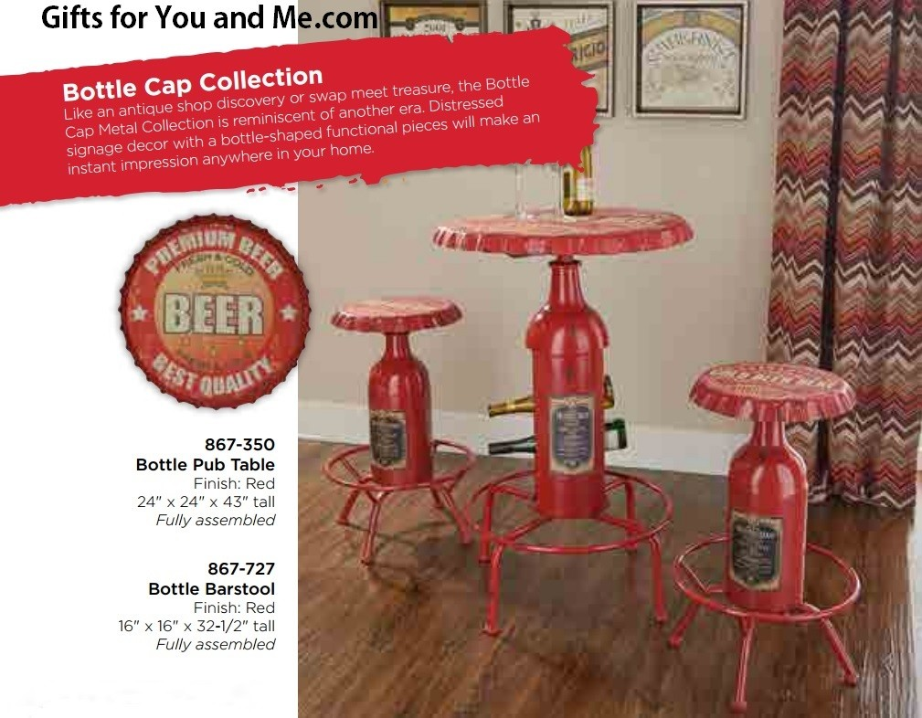 Powell Furniture Bottle Pub Table And Stool 867 350 727